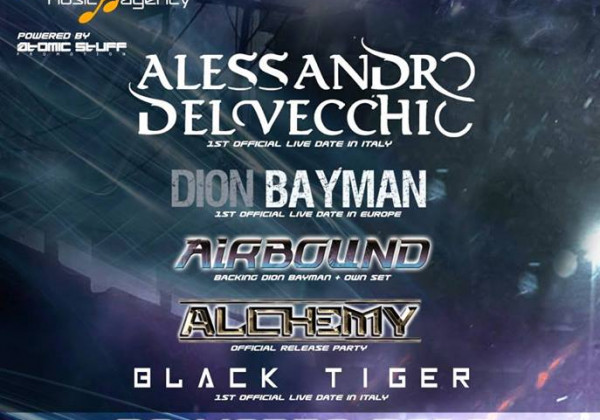 "BLACK TIGER WILL PLAY IN ITALY ON ""A MELODIC ROCK NIGHT 3"""