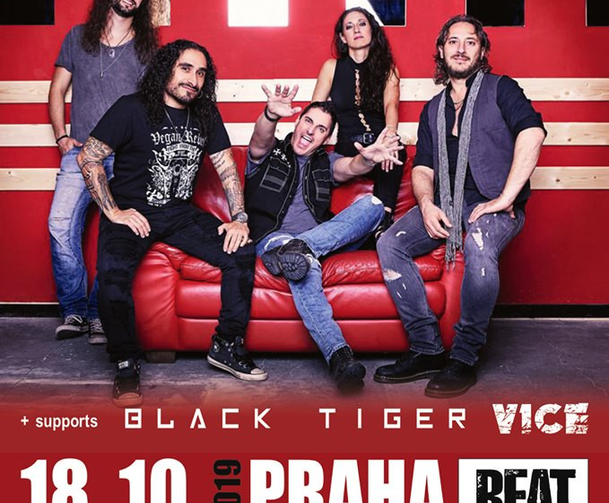 BLACK TIGER will play with HARDLINE and VICE