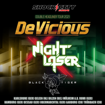BLACK TIGER na evropském turné s DEVICIOUS and NIGHT LASER